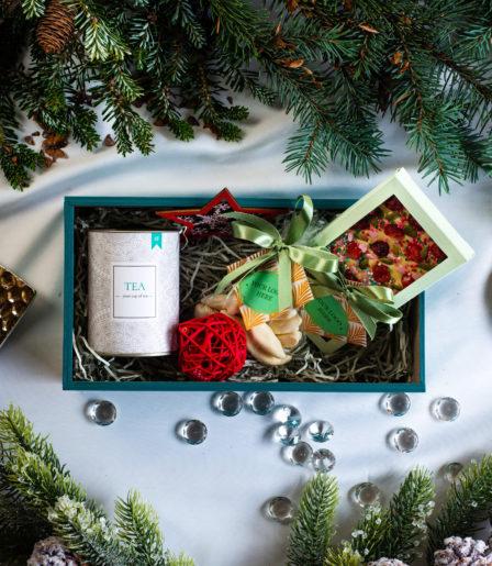 Набор подарочный Оливия с чаем