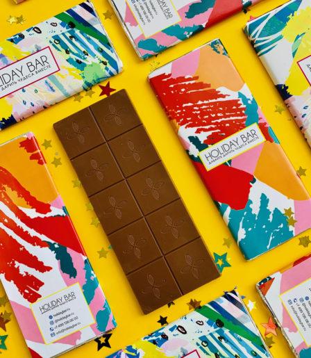 Шоколадная плитка 100 гр.