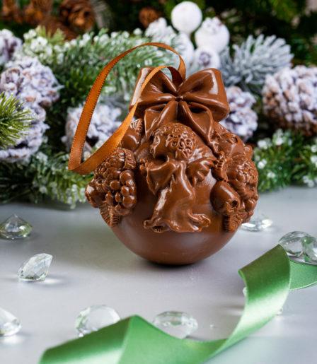 Шоколадна фигура «Шар новогодний»