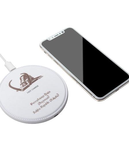 Беспроводная зарядка для телефона с логотипом 05