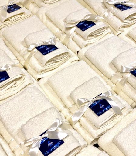 Набор полотенец 3 шт. с логотипом
