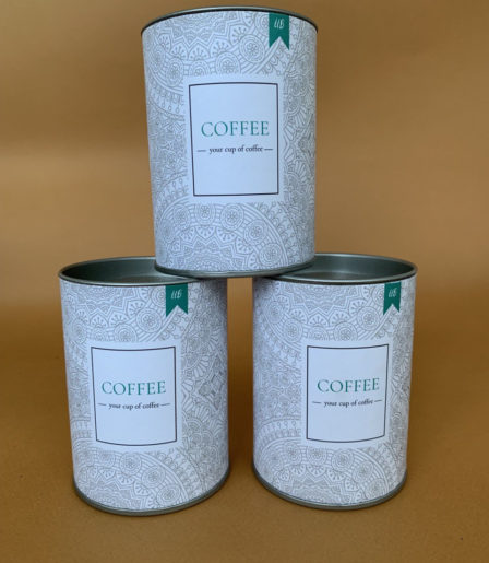 Кофе в тубусе с логотипом