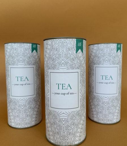 Чай в тубусе с логотипом