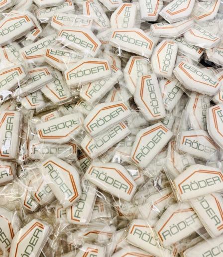 Печенье песочное с логотипом компании