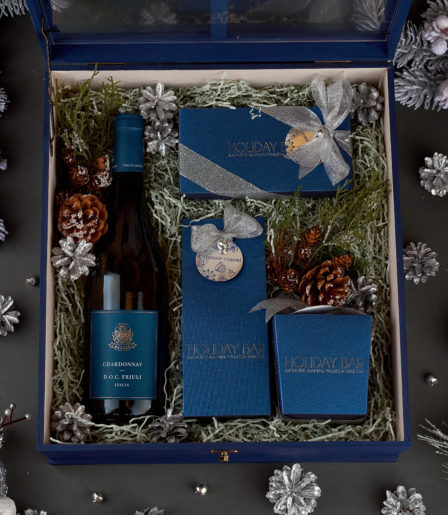 Подарочный набор LUX синий
