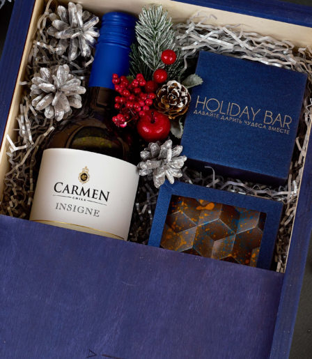 Подарочный набор «Пенал с вином»