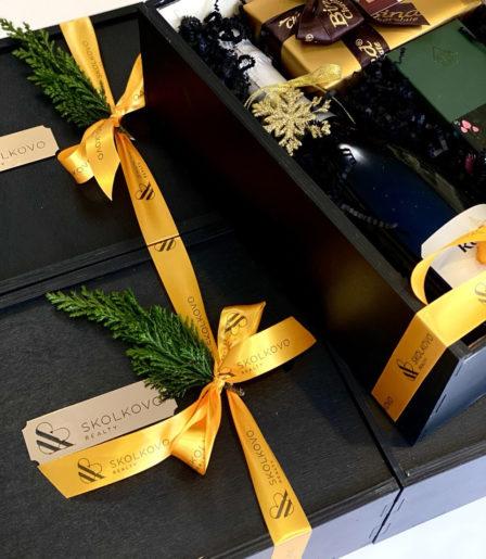Подарочный набор » black aroma»