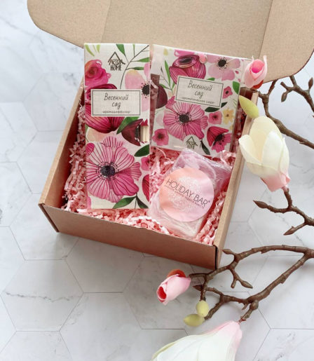Подарочный набор » Весеннее ароманаслаждение»